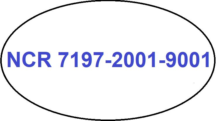 Nejvýhodnější kotoučky pro tiskárnu NCR 7197-2001-9001