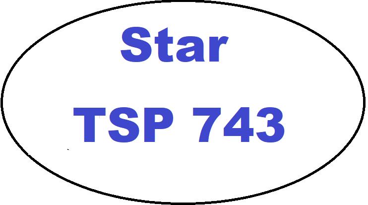 Nejvýhodnější kotoučky pro tiskárnu Star TSP 743