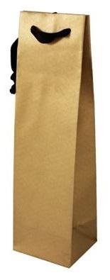 Papírové tašky na láhve luxusní s bavlněným uchem