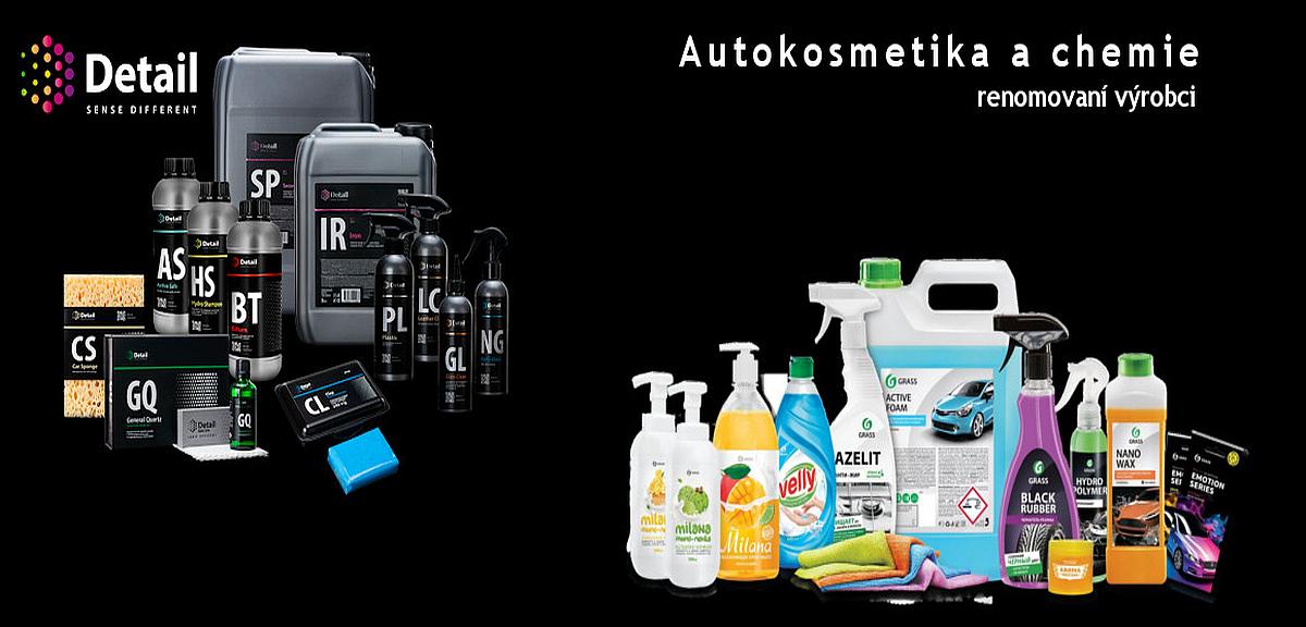 autokosmetika a chemie pro váš vůz