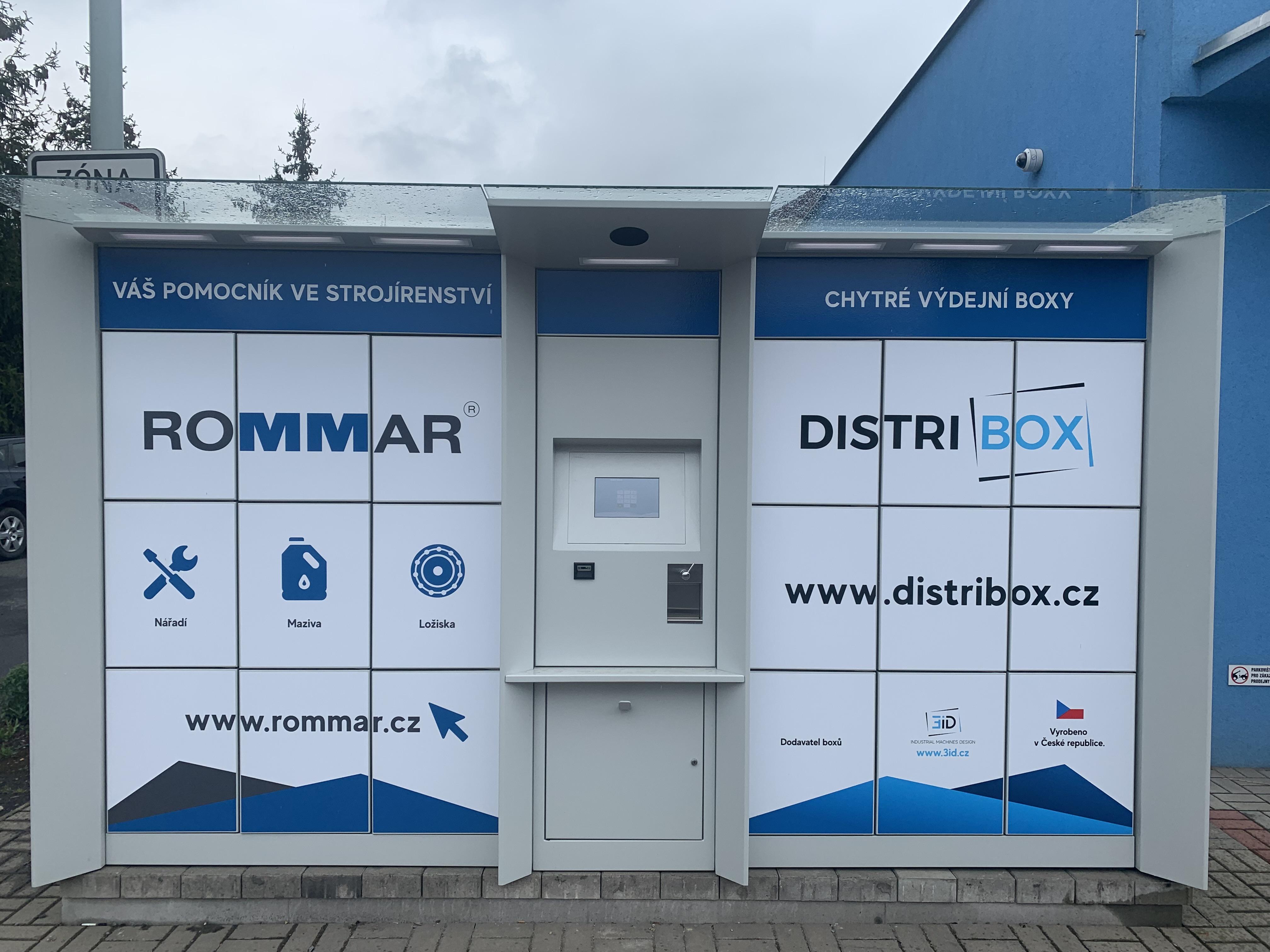 Výdejní box ROMMAR