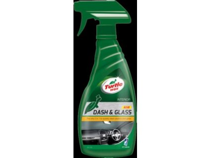 325 turtle wax dash glass 500ml cistic na plast a sklo