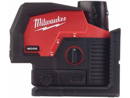 Milwaukee M12 CLLP-301C aku křížový liniový laser