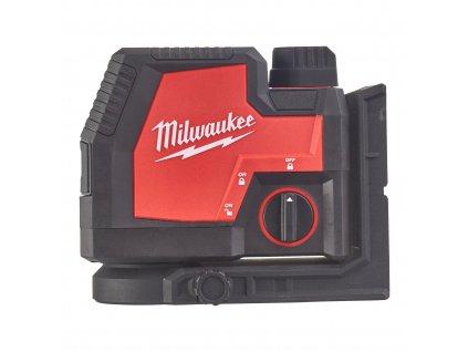 Milwaukee L4 CLLP-301C aku kombinovaný liniovo-bodový laser USB