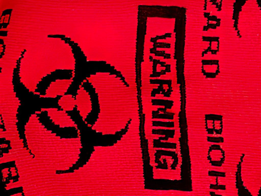 Ponožky - vzor Biohazard