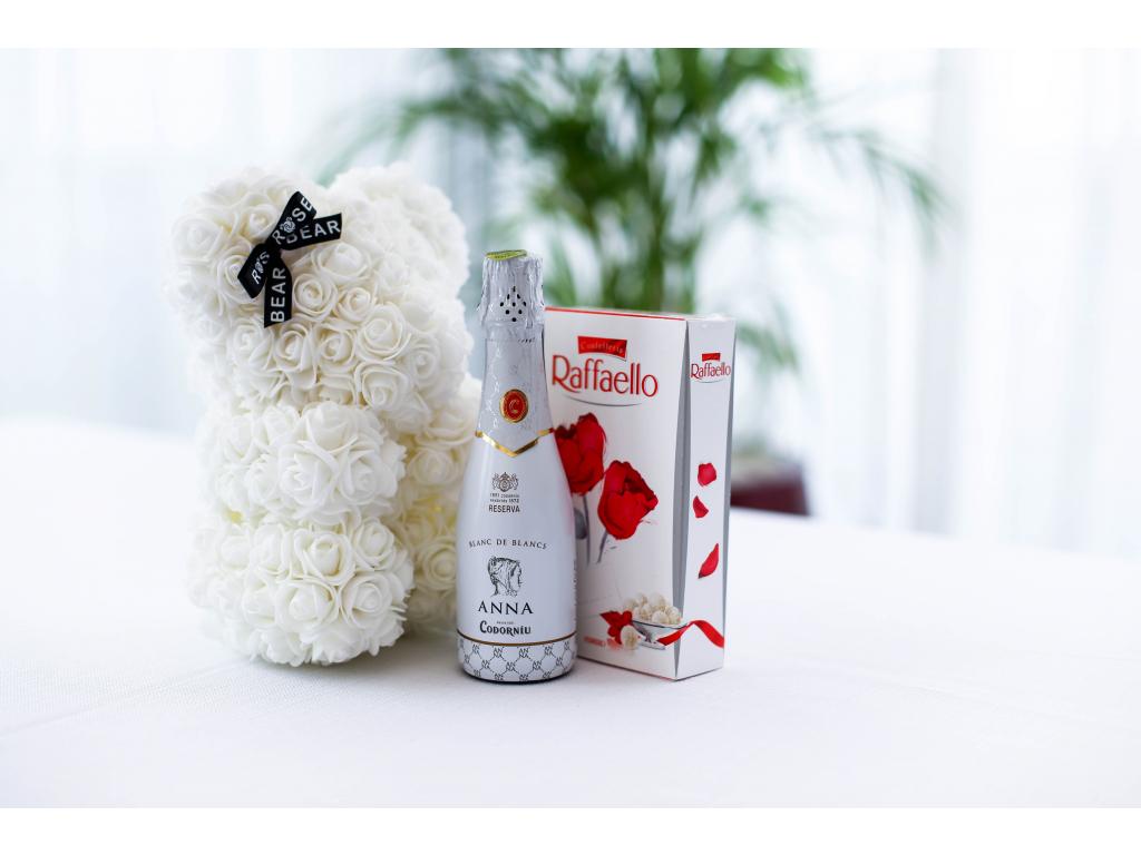 Rose bear balicek mini