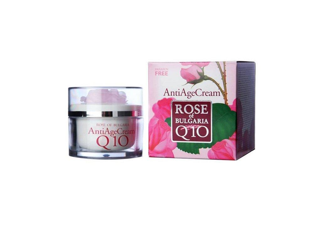 Anti age krém s koenzymem Q10 a růžovou vodou 50 ml