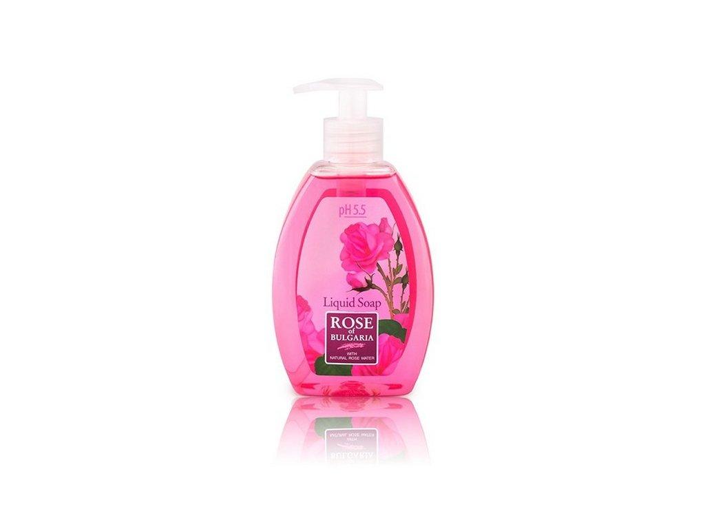 Tekuté růžové mýdlo 300 ml