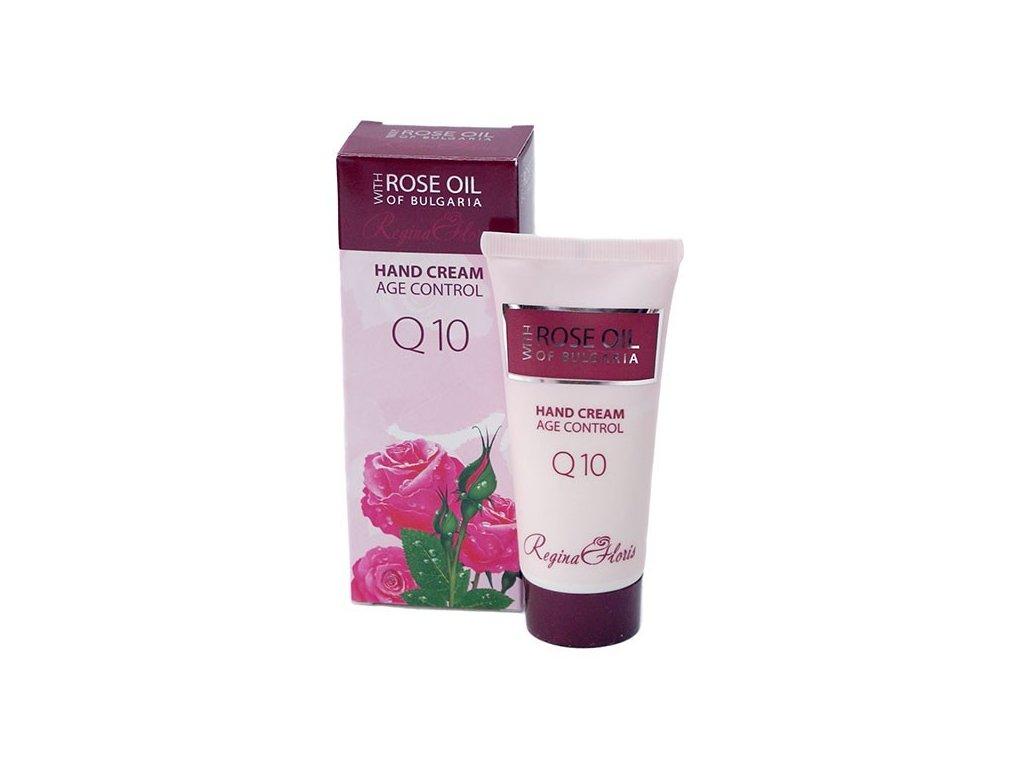 Regina Floris krém na ruce s růžovým olejem a s Q10 50 ml