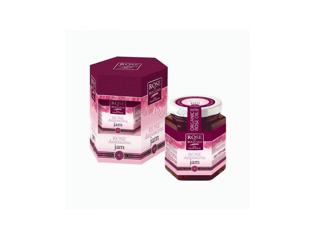 Džem s růžovými lupeny 230 g