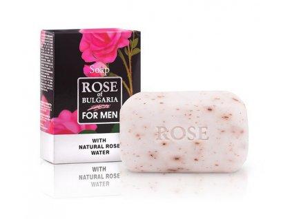 Pánské mýdlo s růžovou vodou