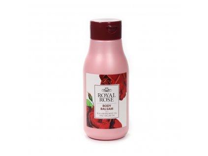 Hydratační tělový balzám s bulharským růžovým olejem Royal Rose Biofresh