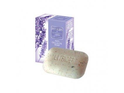 Levandule dámské mýdlo proti celulitidě