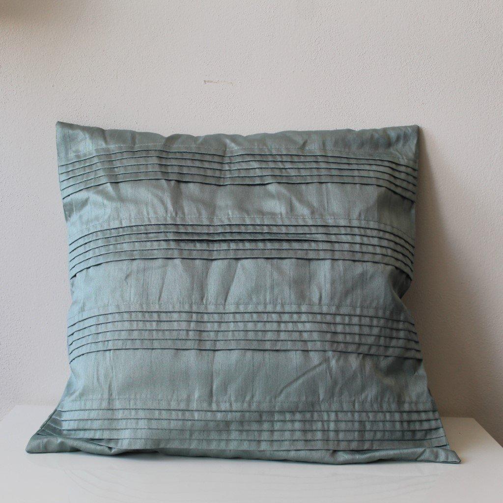 Povlak na polštářek modrozelený