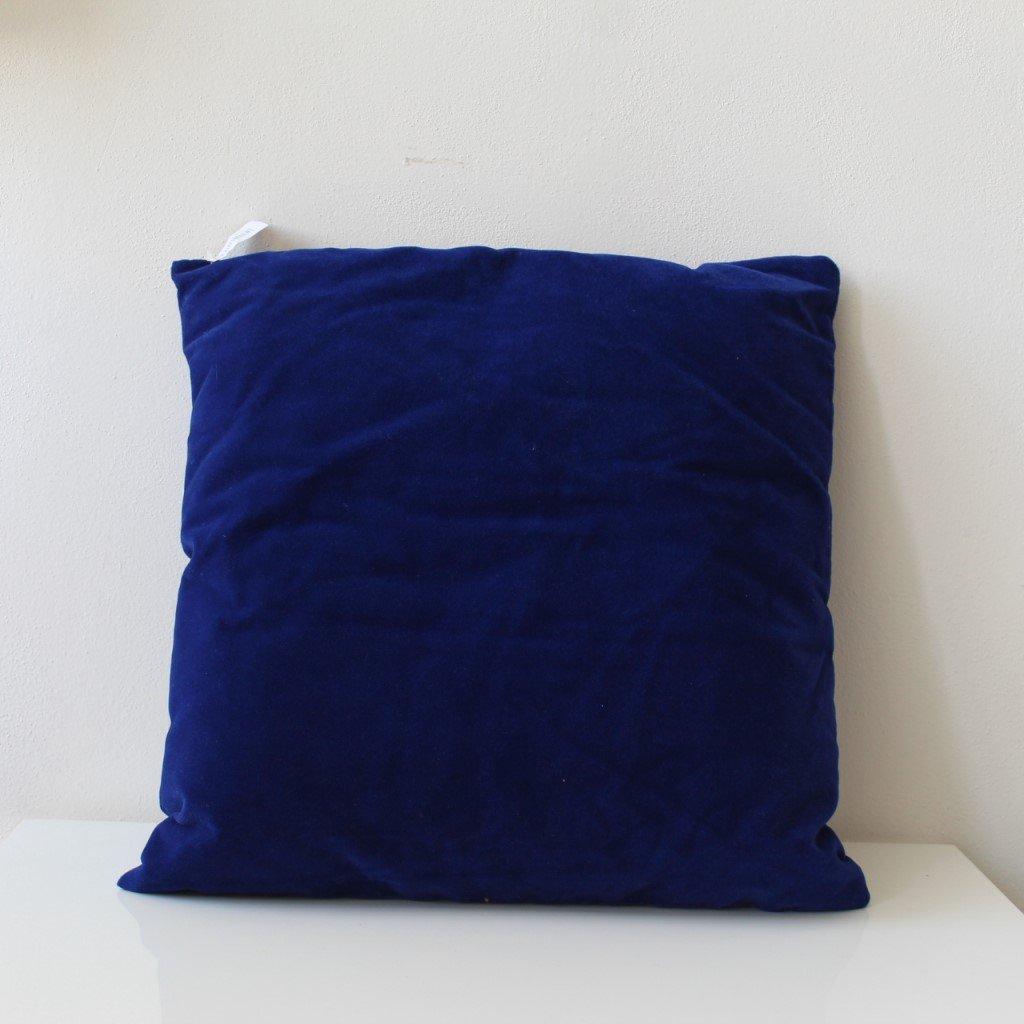 Povlak na polštářek tmavě modrý