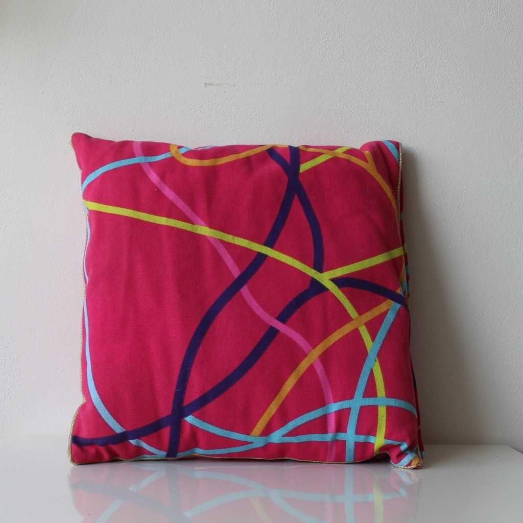 Povlak na polštářek růžový