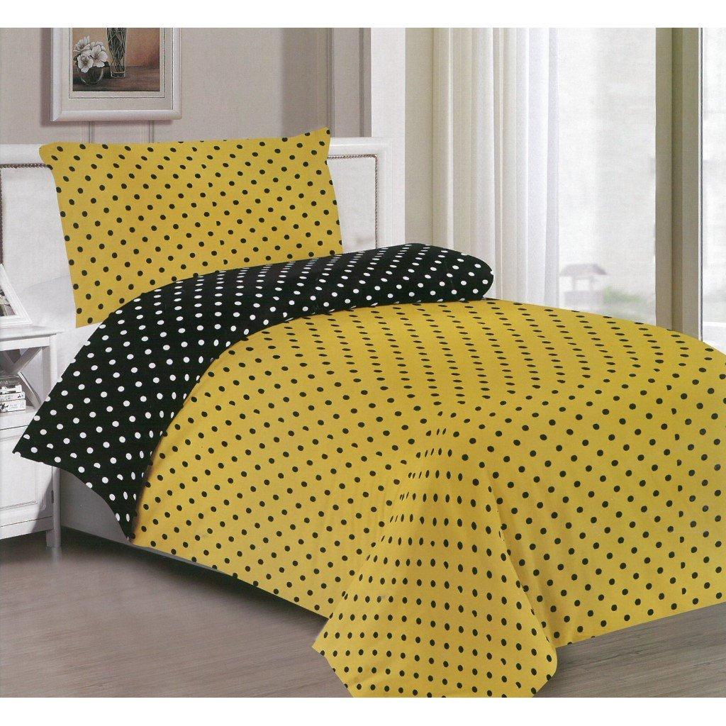 žluto černé puntíky