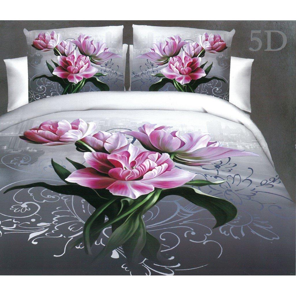 Růžové květy