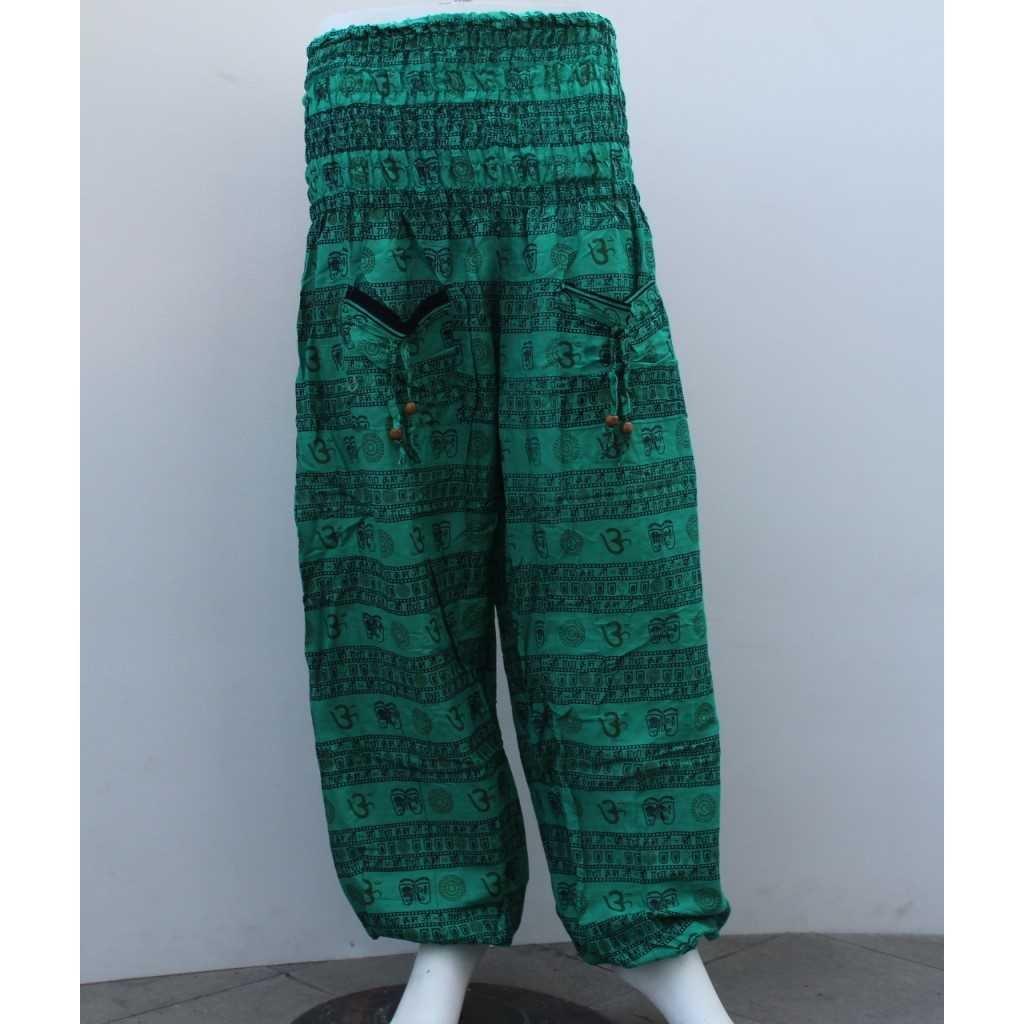 Aladinky ornamenty zelené