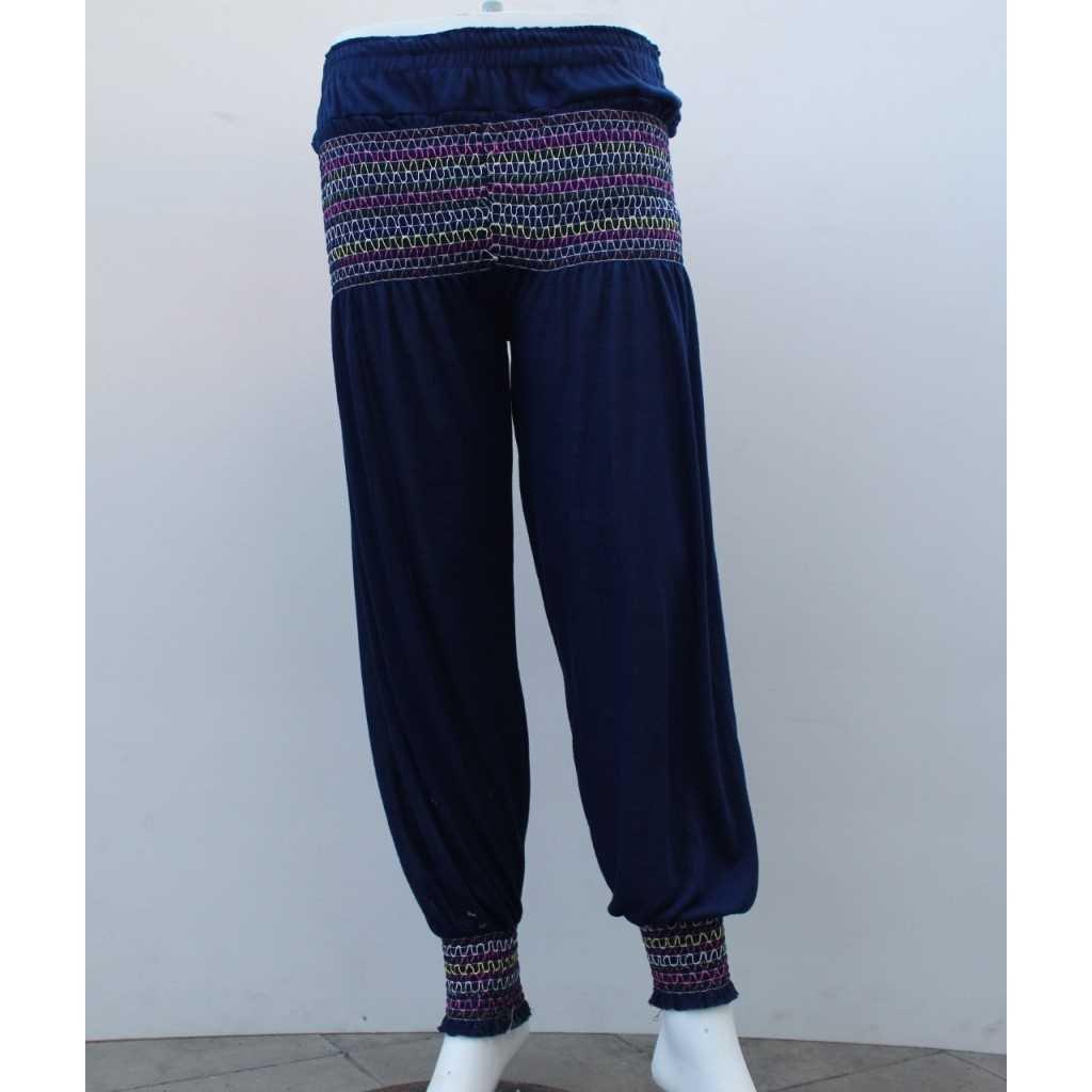 Kalhoty typu Aladinky tm. modré