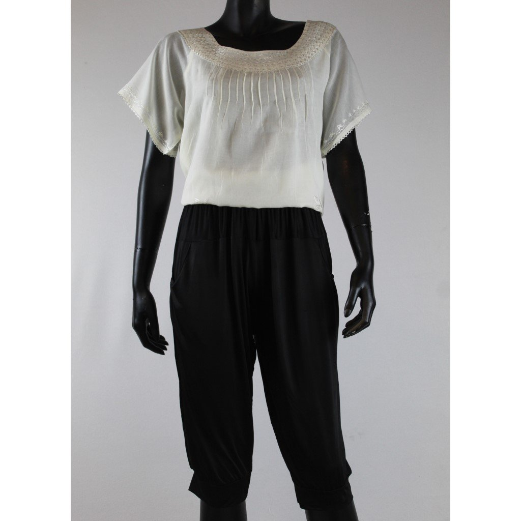 Dámské kalhoty krátké černé