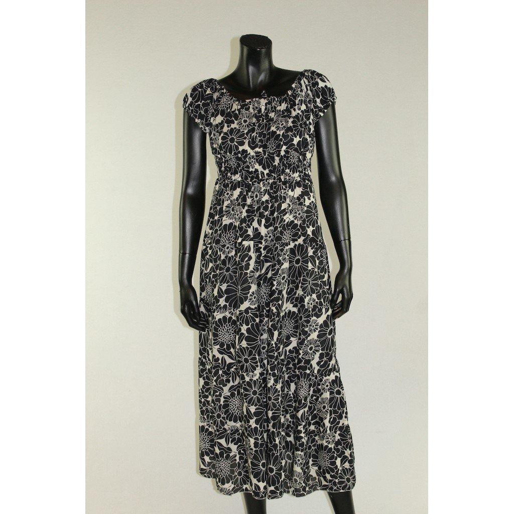 šaty černo. bílé