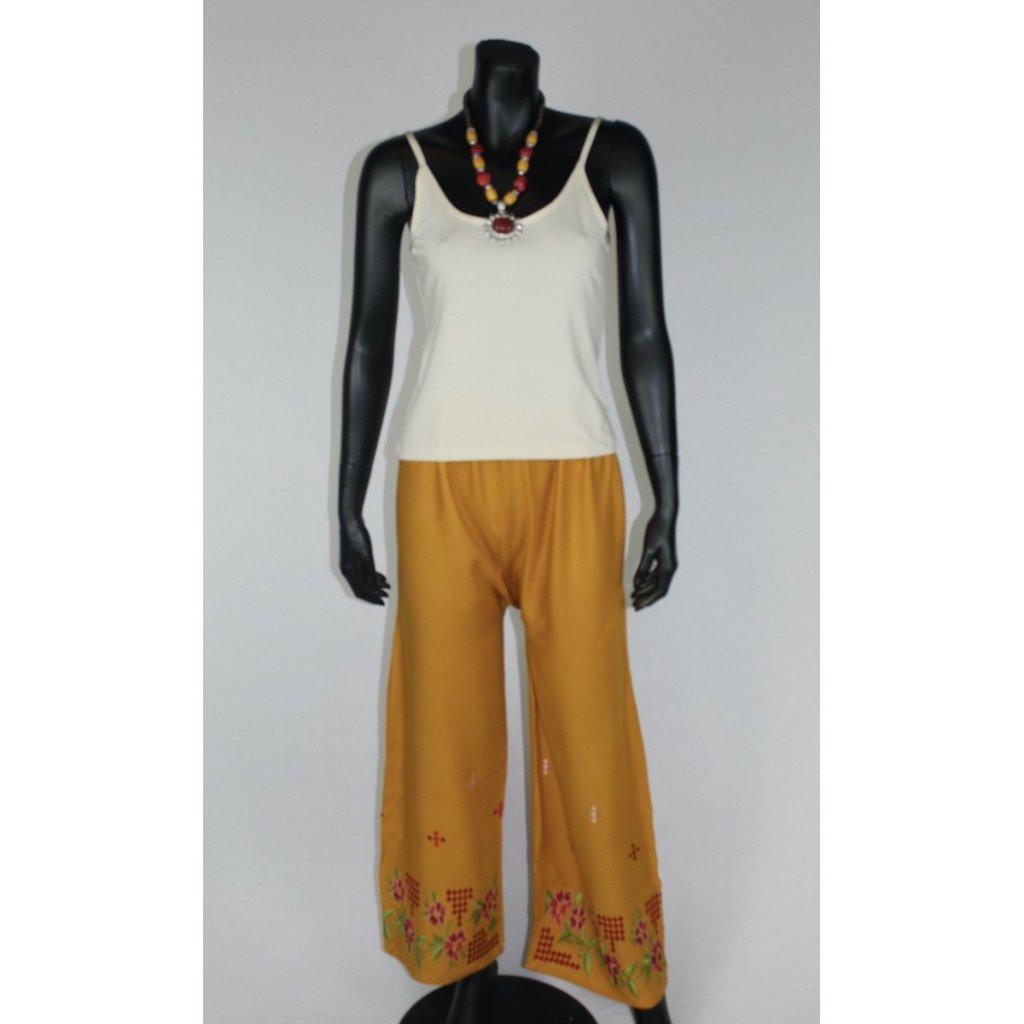 kalhoty oranžové vz.1