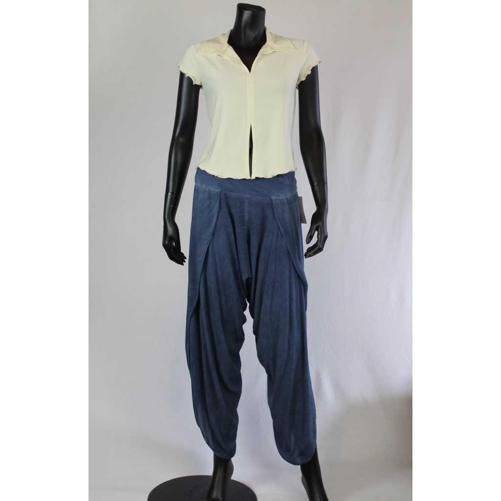 Kalhoty Donna 6229 modré