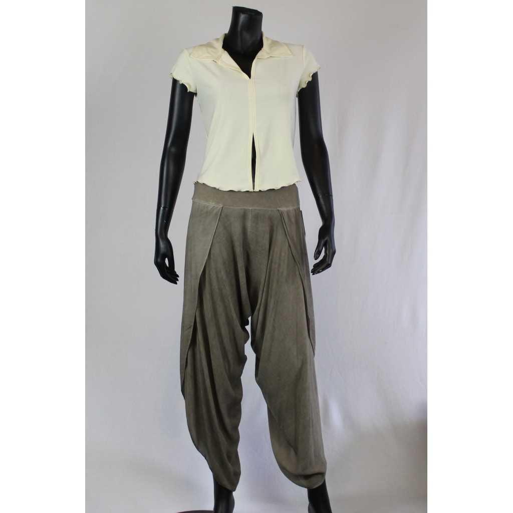 Kalhoty Donna 6229 šedé