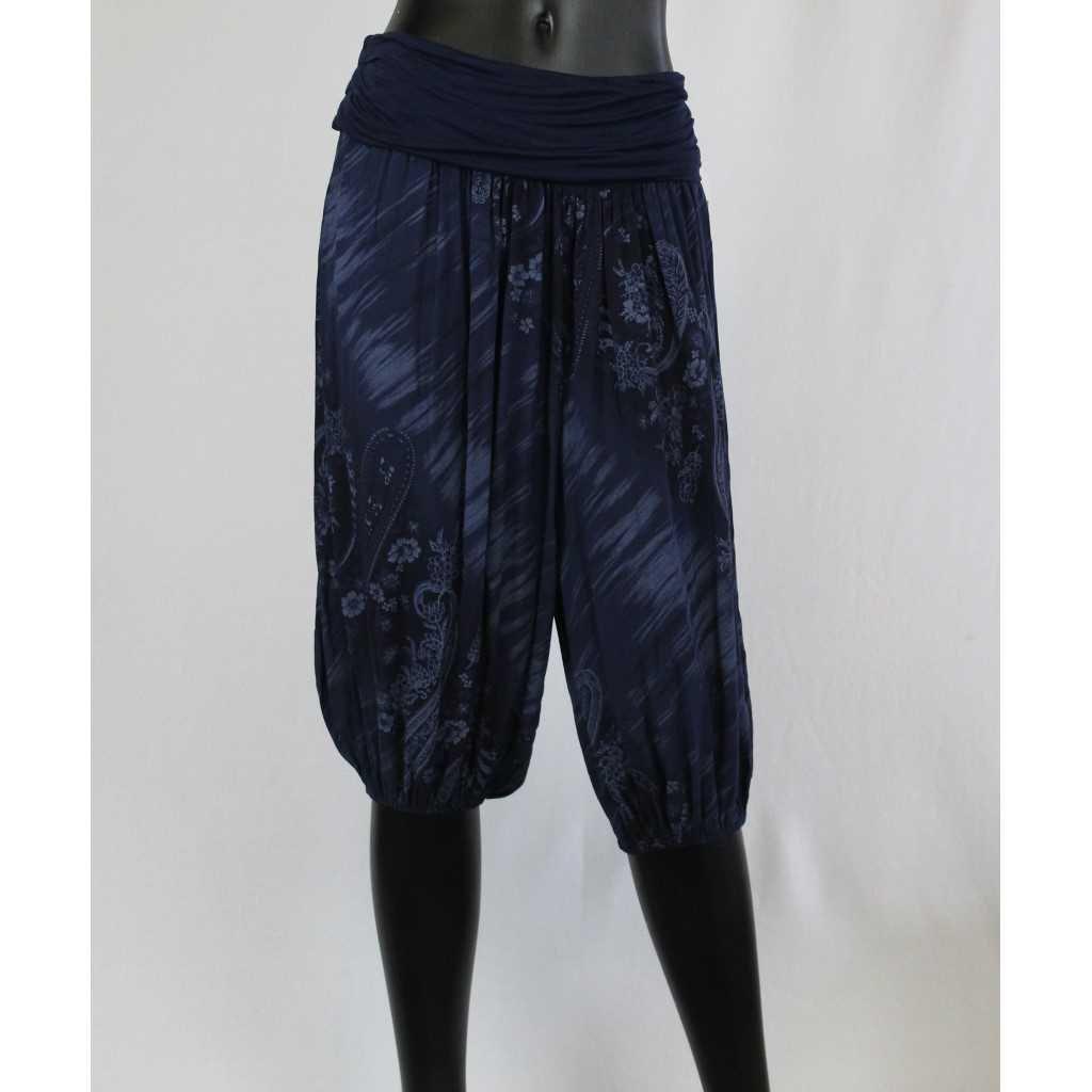 Kalhoty Donna 7005 tm. modré
