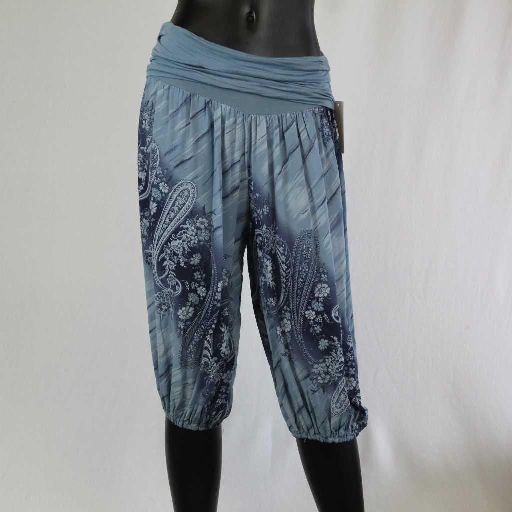 Kalhoty Donna 7005 sv. modré