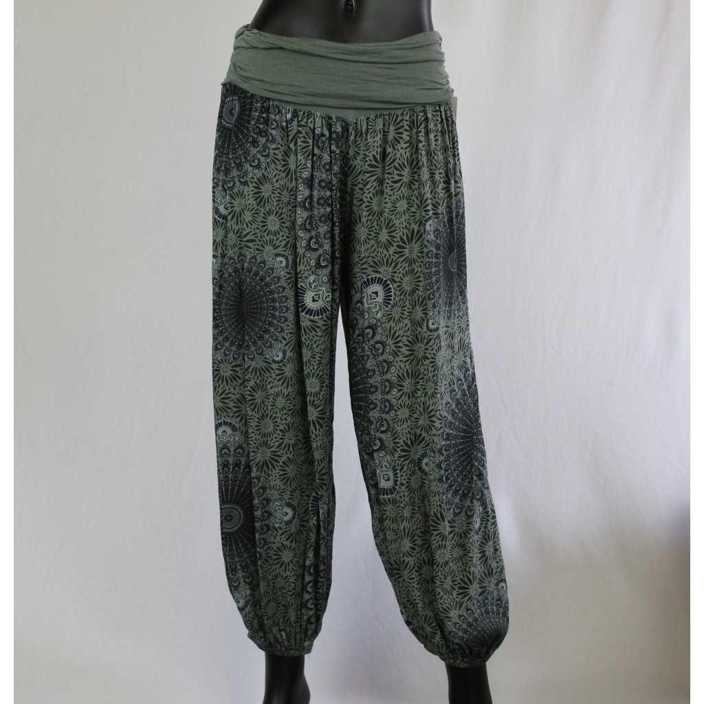 Kalhoty Donna 6089 zelene