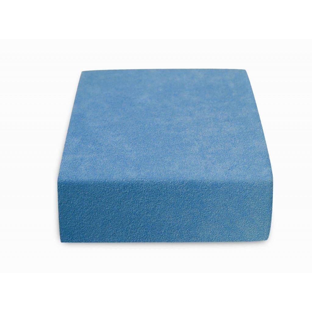108739 152 vyr 14323577 akce frote prosteradlo do detske postylky modre 60x120 cm ii jakost 2