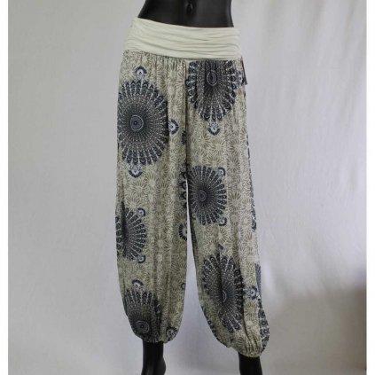 Kalhoty Donna 6089 krémové