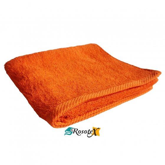 Uterák froté Deluxe oranžová 50x100cm