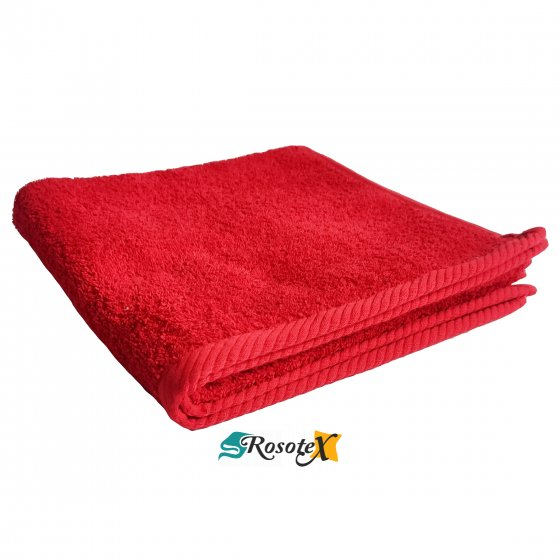 Osuška froté Deluxe červená 70x140cm
