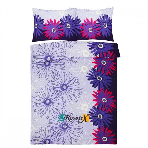 bavlnene obliecky bloom purple 140x200cm