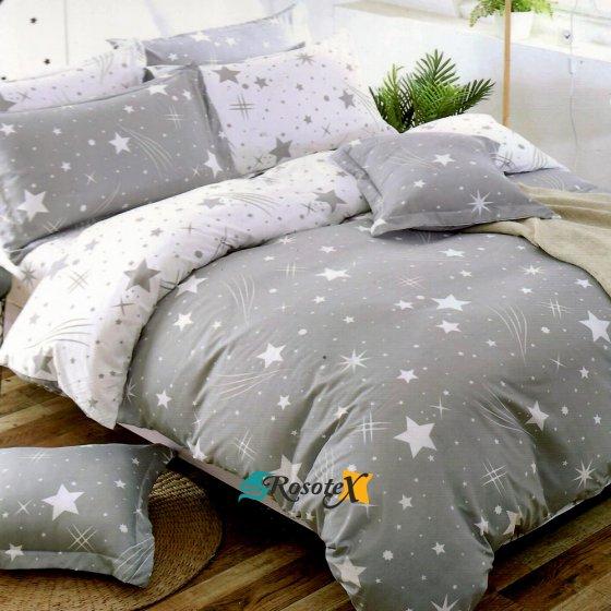 bavlnene obliecky star 9 gray 7 set 140x200cm 2233