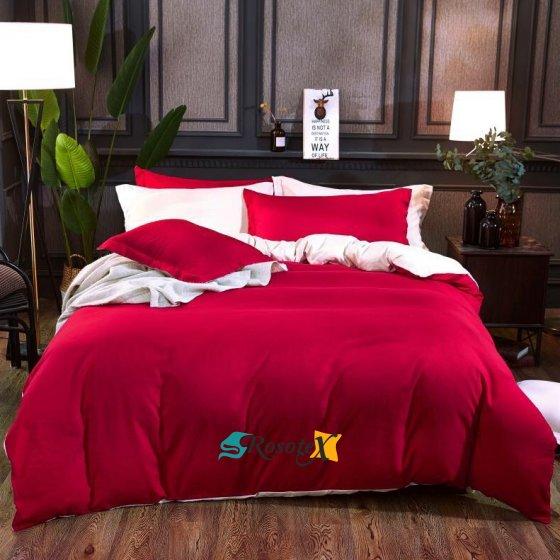 bavlnene obliecky BASE RED 140x200