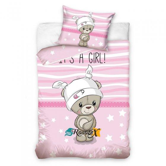 detske bavlnene obliecky BABY GIRL 100x135cm