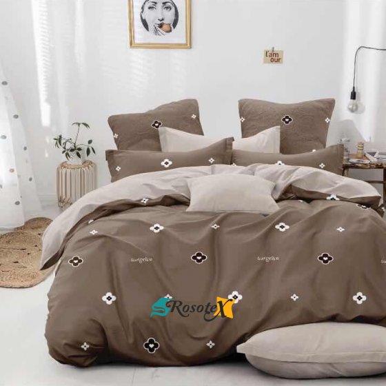 bavlnene obliecky 3d foto CHILL brown bavlna 140x200