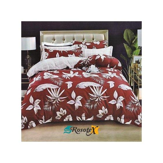 bavlnene obliecky FLOWER RED 140x200cm