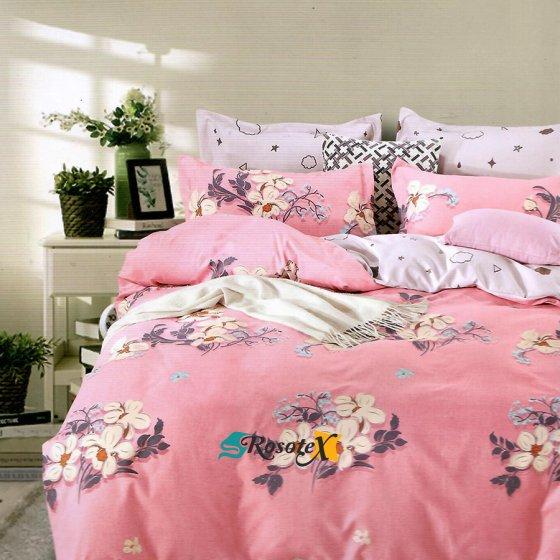 obliecky ROSE FLOWER 3 dielna sada 140x200cm