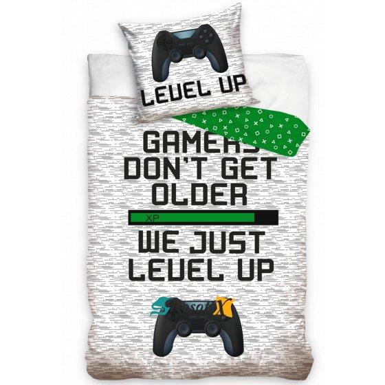 bavlnene obliecky gamer 140x200cm 2256
