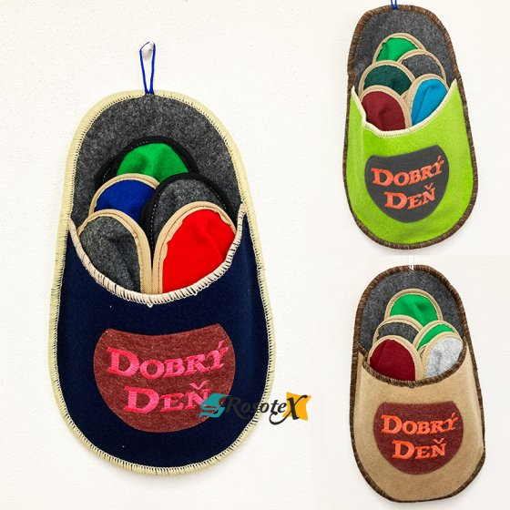 homa papuce pre hosti 5 parov