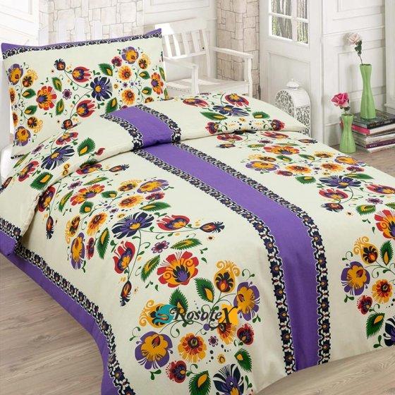 bavlnene obliecky CULTURE purple 140x200cm