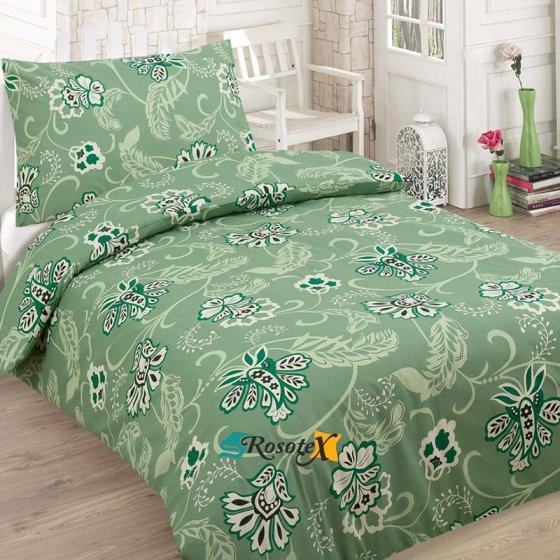 bavlnene obliecky KATIE green 2 dielna sada 140x200cm