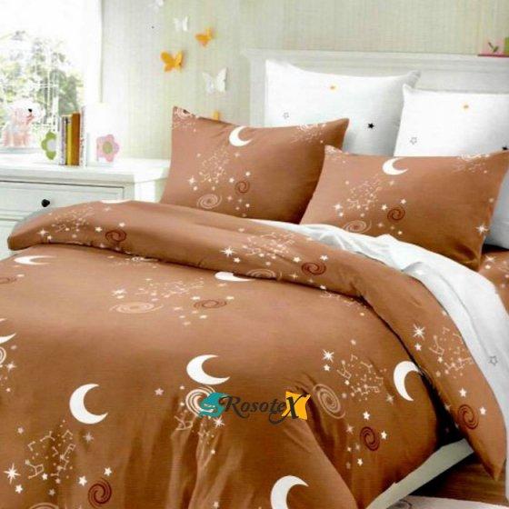 bavlnene obliecky SOFY BROWN 140x200cm