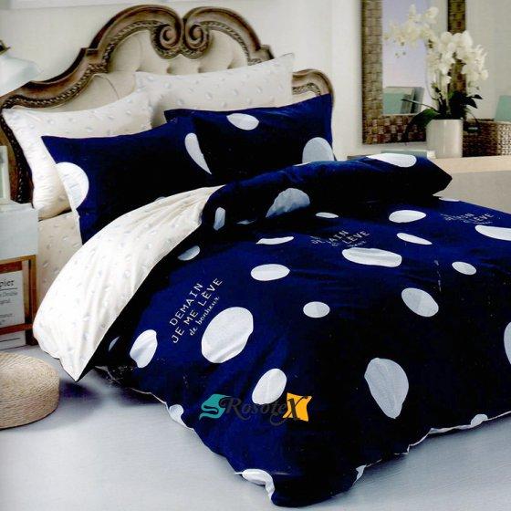 postelne obliecky DEMAIN BLUE 7 dielna sada 140x200cm