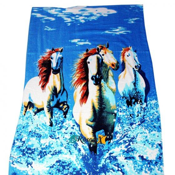 bavlnena osuska HORSE 70x140cm